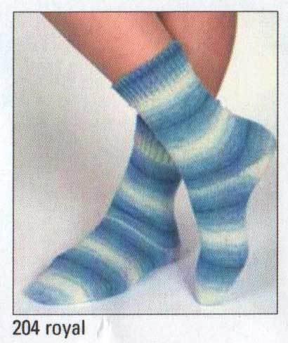 Austermann Step Holiday Sock 204 Royal 1