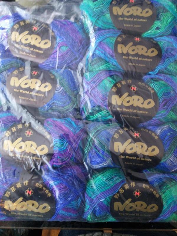 Noro Silk Garden Sock shade 8 2