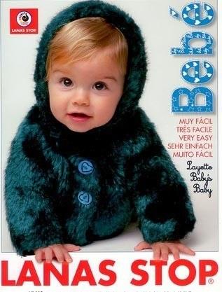 Lanas Stop Bebe 0-3mths pattern book 113