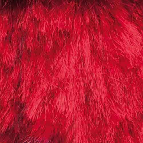 Lanas Stop Vison Faux Fur 804 Red 1