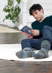 Noro Family Book by Jenny Watson mens socks