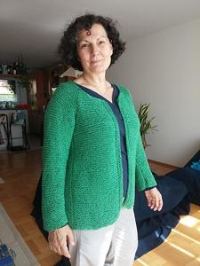 Adult Modular Cardigan Pattern