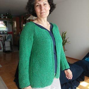 Aline Modular Cardigan Pattern