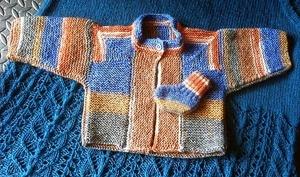 Sockyarn Modular Baby Jacket