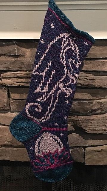 Dragon Spirit Stockings Darlene Swaim