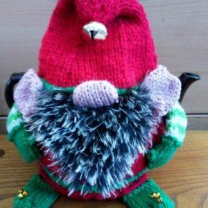 Elf or Gnome Tea Cozies 3 Sizes Pattern