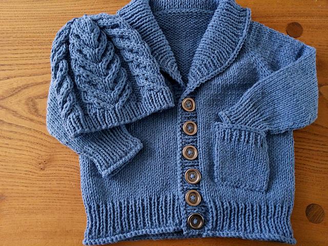 Gramps cardigan tincan knits