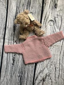 Bonny Baby Ballet Wrap Cardigan by Loraine Birchall 2