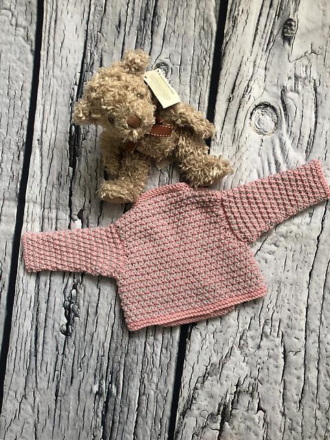 Bonny Baby Ballet Wrap Cardigan by Loraine Birchall 1