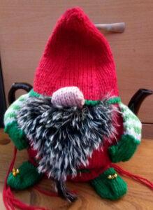 Gnome or Elf Tea Cozy 3 Sizes Pattern