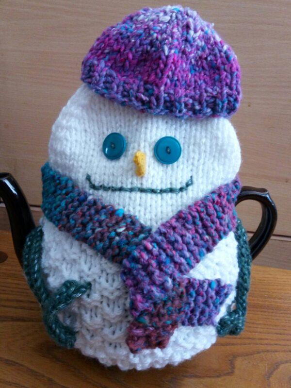 Snowman Tea Cozies 3 Sizes Pattern