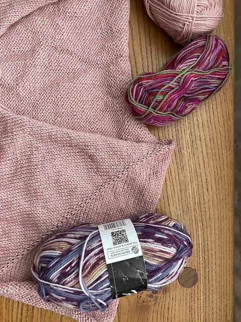 Vera Sweater Test Knit WIP wips