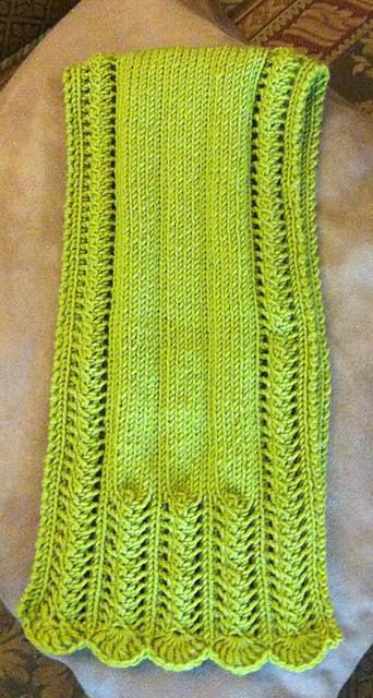 York Scarflette & scarf set Pattern