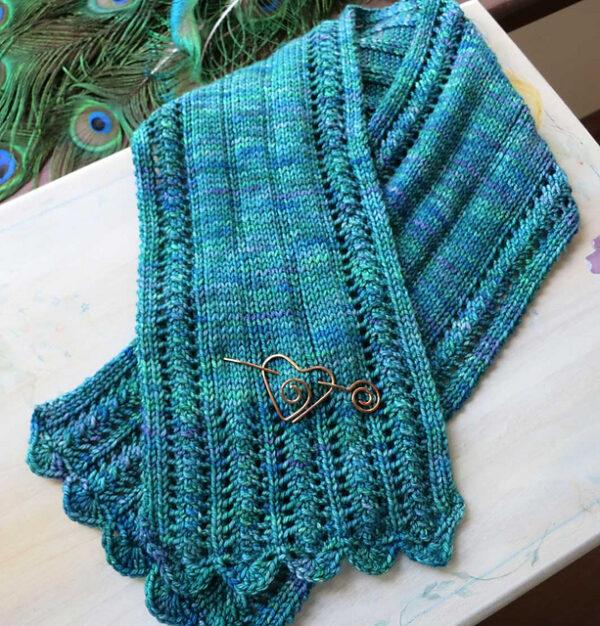 York Scarflette & scarf set