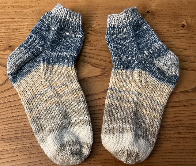 Sensational sock knitting, am I mad?