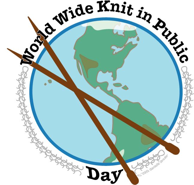 World Wide Knit In Public Day 2021
