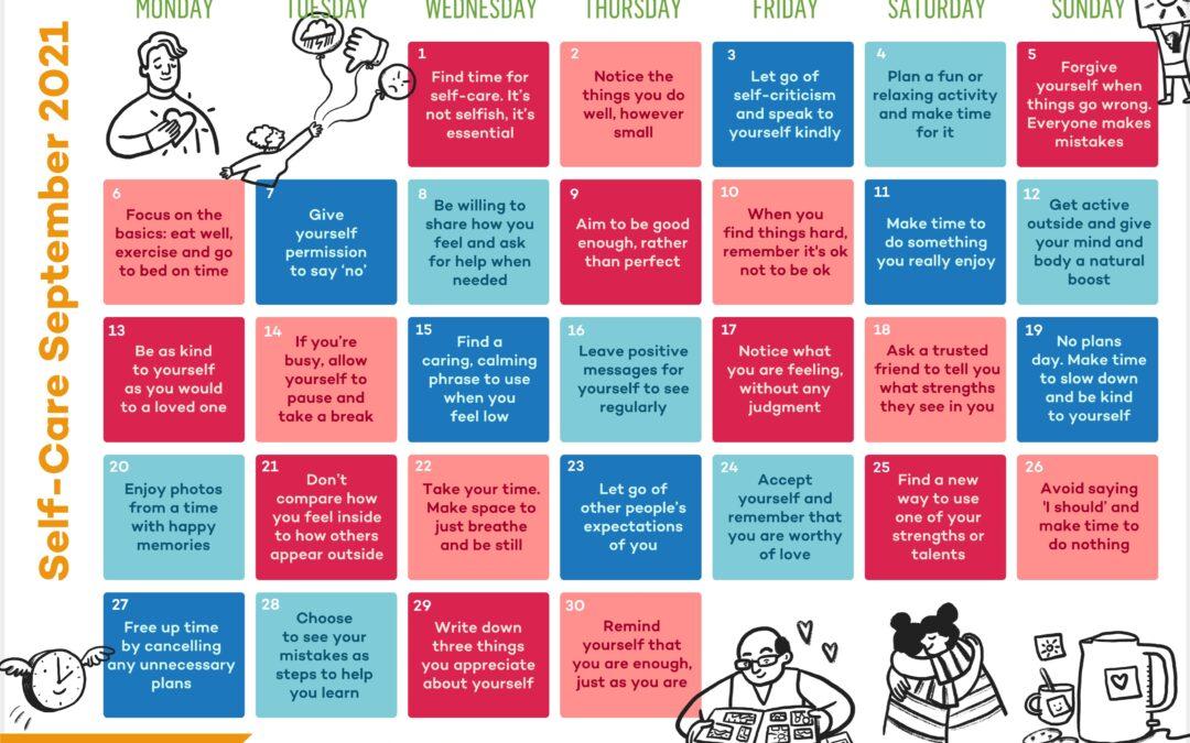 Self-Care September Calendar